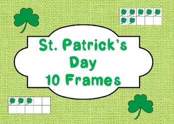 St. Patrick's Day Color the 10 Frames