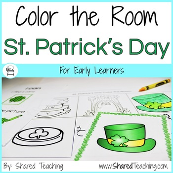 St. Patrick's Day Color the Room