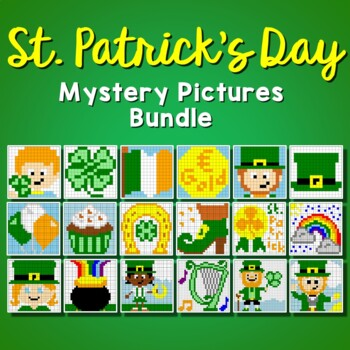 St Patrick's Day Coloring (Color-by-Number) Activity