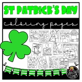 St Patrick's Day Coloring Book {Educlips Resources}