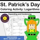 St. Patrick's Day Coloring Challenge: Expanding and Conden