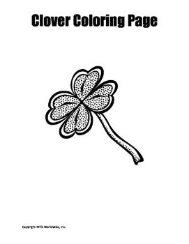 St. Patrick's Day Coloring Page Bundle