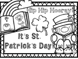 St. Patrick's Day Coloring Page ~ FREEBIE!