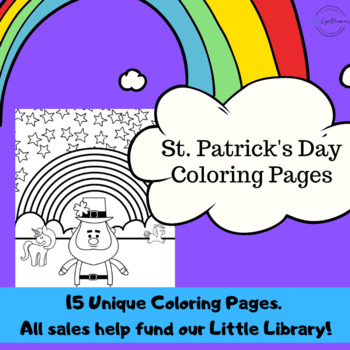 St. Patrick's Day Coloring Pages - 10 Unique Pages - Just Fun