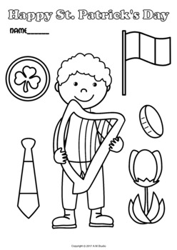 St. Patrick`s Day Coloring Pages