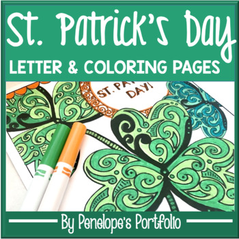 St. Patrick's Day Coloring Sheets / Pages