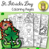 St. Patrick's Day Coloring Pages FREEBIE