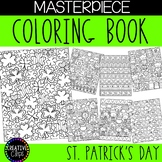 St. Patrick's Day Coloring Pages: Masterpieces {Made by Creative Clips}
