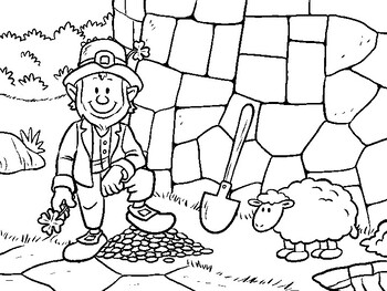 St. Patrick's Day Coloring Pages PDF