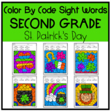 St. Patrick's Day Coloring Pages | Second Grade Color By S