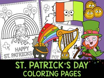 St. Patrick's Day Coloring Pages - The Crayon Crowd, Leprechaun, Activity