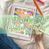 St. Patrick's Day Coloring Pages by Taracotta Sunrise