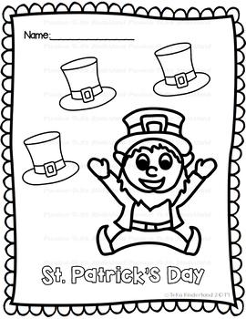 St Patrick's Day Coloring Sheets {TeKa Kinderland)