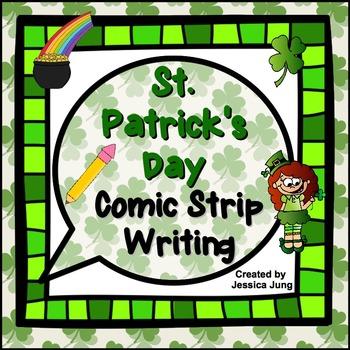 St. Patrick's Day Comic Strip Writing
