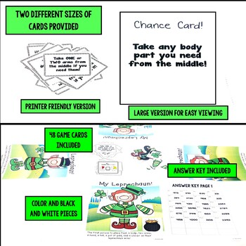 Saint Patrick's Day Comparing Fraction Pictures Game