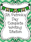 St. Patrick's Day Complete Writing Station