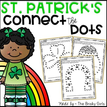 St. Patrick's Day Connect the Dots Freebie