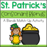 St. Patrick's Day Consonant Blends Activity
