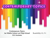 St. Patrick's Day Contemporary Topics: Level 3.1