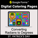 St. Patrick's Day: Converting Radians to Degrees - Digital