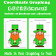 St.Patrick's Day Coordinate Graphing Picture:Leprechaun