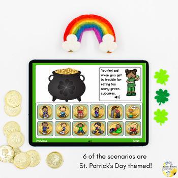 St. Patrick's Day Coping Strategies Digital Activity