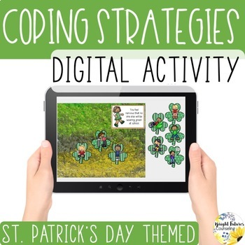 St. Patrick's Day Coping Strategies Digital Activity