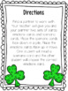 St. Patrick's Day Counseling Activity, Grades 2-3