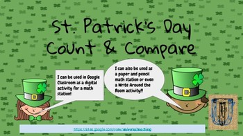 St. Patrick's Day Count & Compare