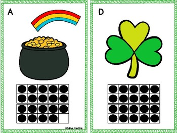St. Patrick's Day Count The Room 1-10 & 11-20