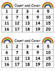 March Activities: St. Patrick's Day Count and Cover Math Center