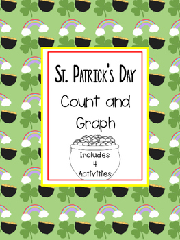 St Patrick's Day Count and Graph