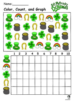 St.Patrick's Day Count and Graph