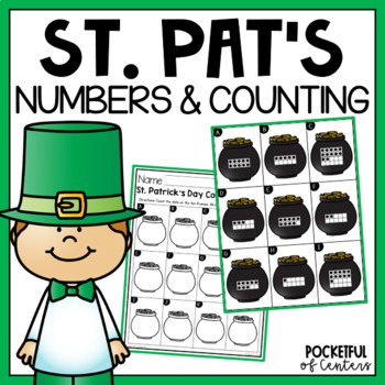 St. Patrick's Day Count and Write 1-20