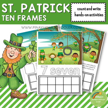 St. Patrick's Day Count and Write Activities