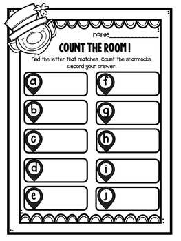 St. Patrick's Day {Count the Room}