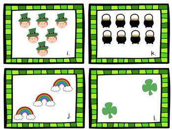 St. Patrick's Day Count the Room