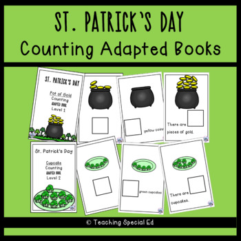 St. Patrick's Day Counting - ADAPTED BOOKS
