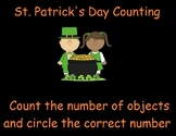 St. Patrick's Day Counting Activity