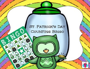 St. Patrick's Day Counting Bingo