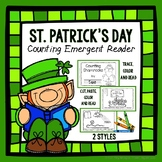 St. Patrick's Day Counting Book - Emergent Reader - Number Recognition