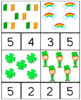 St. Patrick's Day Counting Cards