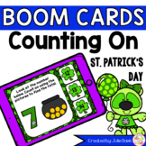 St Patrick's Day Counting On Digital Game Boom Cards