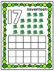 St. Patrick's Day Play Dough Counting Mats 0-10