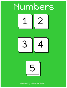 St. Patrick's Day Counting Strips