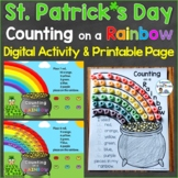 St. Patrick's Day Counting on a Rainbow Page & Digital Goo