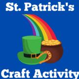 St. Patrick's Day Worksheet Craft
