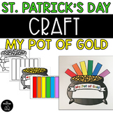 St. Patrick's Day Craft- Pot of Gold