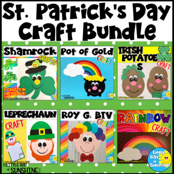 St. Patrick's Day Craft Bundle