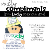 St. Patrick's Day Craft {Crafty Compliments March} Leprech